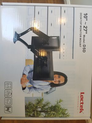 LokTek D5D Dual Monitor Stand for Sale in Sudbury, MA