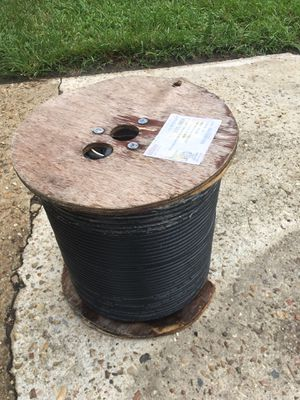 2-1000ft rolls of rg6 coax wire $100for both for Sale in Denham Springs, LA