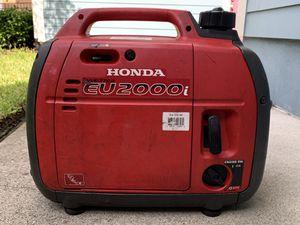 Honda EU2000i portable generator for Sale in Orlando, FL