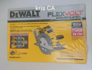 Dewalt flexvolt circular saw kit 60v SKILSAW for Sale in La Puente, CA