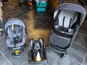 Graco click connect stroller system for Sale in Chesapeake, VA
