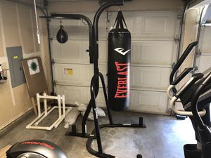 Everlast Heavy/Speed bag with stand for Sale in Home, WA
