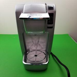 Keurig K10 / B31 Mini Plus Single Serve K-Cup Coffee Maker System - Silver for Sale in Hephzibah, GA