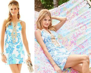 Lilly Pulitzer Emory shift dress (barefoot princess) for Sale in Lake Worth, FL