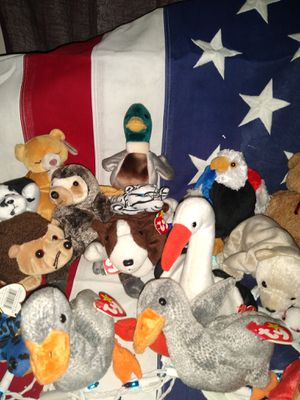 Rare /retired Beanie babies for Sale in Wahneta, FL