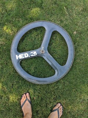 HED 3c Carbon Fiber bike rim for Sale in San Diego, CA