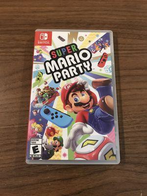 Super Mario Party Nintendo Switch for Sale in Rialto, CA