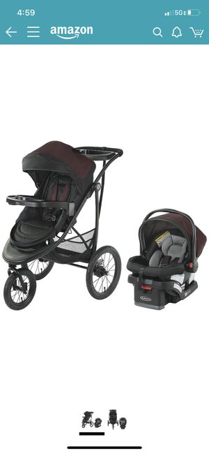 Graco Modes Jogger SE Travel System BRAND NEW STROLLER/CAR SEAT for Sale in Miami Beach, FL