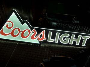 Coors Light LED neon Light !!! for Sale in Mesquite, TX