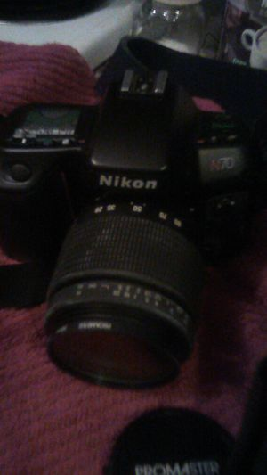 Nikon N70 35mm camera in very fine condition, takes excellent photos for Sale in Columbus, OH