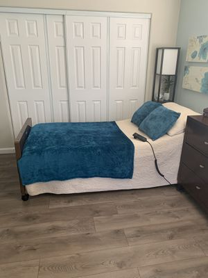 Twin Bed & Remote Control bed frame for Sale in San Marcos, CA