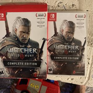 Nintendo Switch Game The Witcher for Sale in Fort Lauderdale, FL