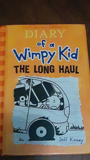 Dairy of a wimpy kid the long haul for Sale in Benson, NC