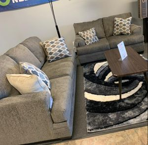 🍻New Ashley Slate Living Room Set / Couches☆Sofa & Loveseat included☆Chair and Ottoman sold separately💥39 DOWN PAYMENT🍻 for Sale in Houston, TX