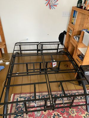 Full-Size Metal bed frame for Sale in Austin, TX