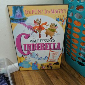 Cinderella Disney Picture Poster for Sale in Lacey, WA