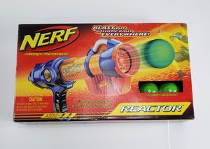 Nerf Reactor Blaster ~ Pump & Launch Blasting Toy Gun for Sale in Baltimore, MD