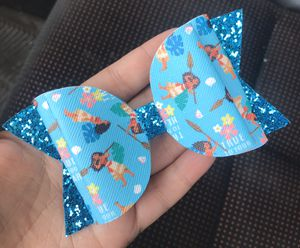 Moana Handmade Faux Leather Hair Bow for Sale in Bell Gardens, CA