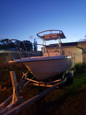 21 ft center console for sale or trade for Sale in Tamarac, FL