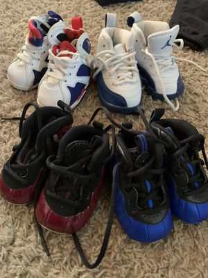 25$ Foams in the front are a 2C Jordan's in the are a 3C for Sale in San Lorenzo, CA