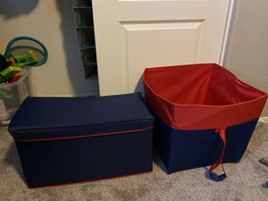 Collapsible kids storage /toy box for Sale in Peoria, AZ
