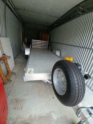 14' aluminum a luma utility trailer for Sale in West Palm Beach, FL
