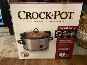 Crock pot - never opened for Sale in Reston, VA