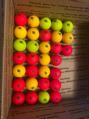 Golf balls b e12 soft 36 balls 40 for Sale in Ford Heights, IL