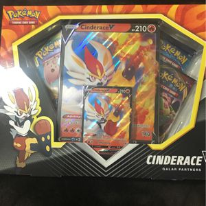 Cinderace V Galar Partners Box for Sale in Stockton, CA