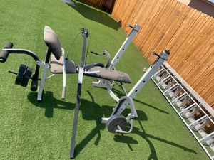 Free weights and bench for Sale in North Las Vegas, NV