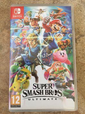 Super Smash Bros. Ultimate Nintendo Switch Game for Sale in Las Vegas, NV