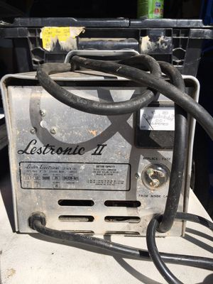 Lestronic 24 volt golf cart charger for Sale in Stockton, CA
