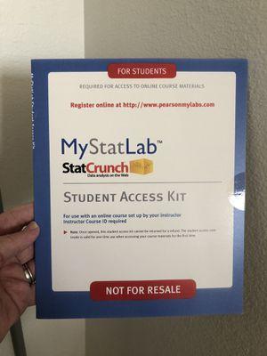 MyStatLab student access kit for Sale in Santa Monica, CA