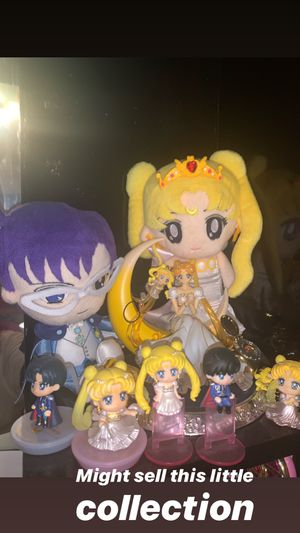 Sailor moon figures and plush for Sale in Fontana, CA