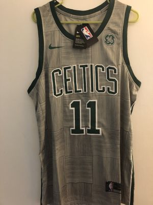 ba47e4d89 Kyrie Irving Boston Celtics 2018 city version jersey size extra large for  Sale in Lansing