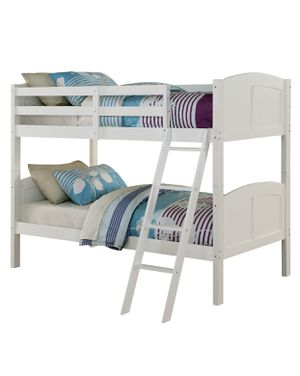 White wood twin bunk bed for Sale in Maple Valley, WA