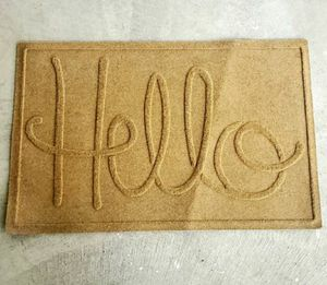 Bungalow Flooring Hello Door Mat for Sale in Pevely, MO
