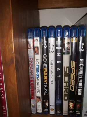 Bluray Movies (8 titles total) for Sale in Aptos, CA