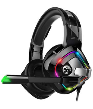 Gaming Headset Xbox One Headset, PS4 Headset with Noise Canceling Mic and RGB Light, PC Headset with Bass Surround Sound, Over Ear Headphones for PC, for Sale in Queens, NY