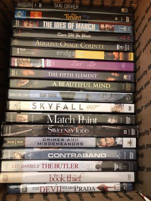 DVD's BY THE BOX for Sale in Baltimore, MD