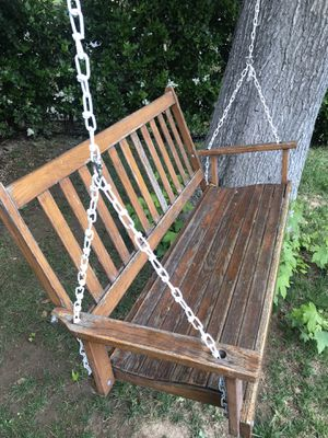 Front porch swing chair for Sale in Ontario, CA