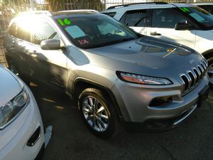 2016 jeep cherokee 4x4 And more vehicles WE APPROVE EVERYONE IN HOUSE FINANCE todos califican NO NECESITA CREDITO for Sale in Phoenix, AZ