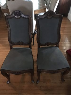 Dining room chairs for Sale in Millbury, MA