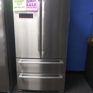 BOSCH DOUBLE FREEZER REFRIGERATOR🎈OPEN SUNDAY 9AM-6PM🎈💲100 OFF NOW💲🌟BUY NOW PAY LATER🌟❌NO CREDIT NEEDED❌ for Sale in Hesperia, CA