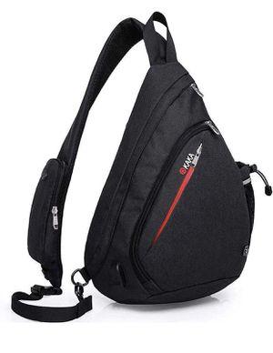 Sling Bag,Crossbody Backpack Shoulder Bag Travel With USB Charging Port for Sale in Las Vegas, NV