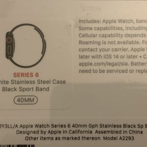Apple Watch Series 6 40mm Stainless Steel for Sale in Bellevue, WA