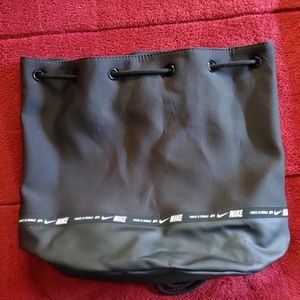 Nike Womens Bag Backpack Bucket Air Force Is Female One 1 Black AF1 Tote White for Sale in Chula Vista, CA