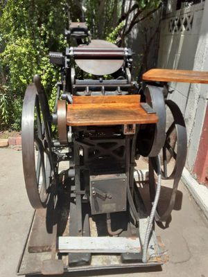 Chandler & Price . Printing press for Sale in Los Angeles, CA