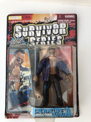 The Rock - vintage Wwe/Wwf action figure in packaging for Sale in Berkeley Springs, WV