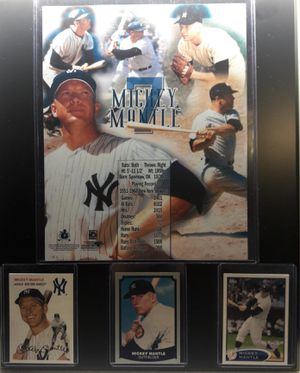 Yankees mickey mantle plaque for Sale in CTY OF CMMRCE, CA